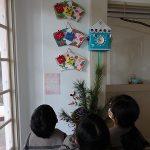 グループホーム篠山の皆さん手作りの節分飾り