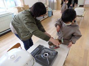 ごはん塾篠山幼稚園バージョン お味噌汁のできあがりその3