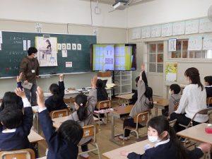幼稚園 1年生へ体験入学その3